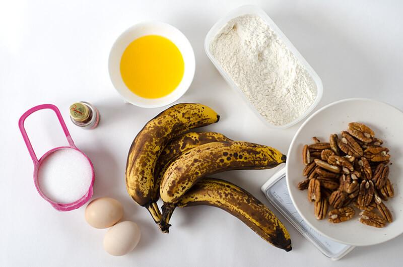 Low Sugar Banana Bread  Low Sugar Banana Bread