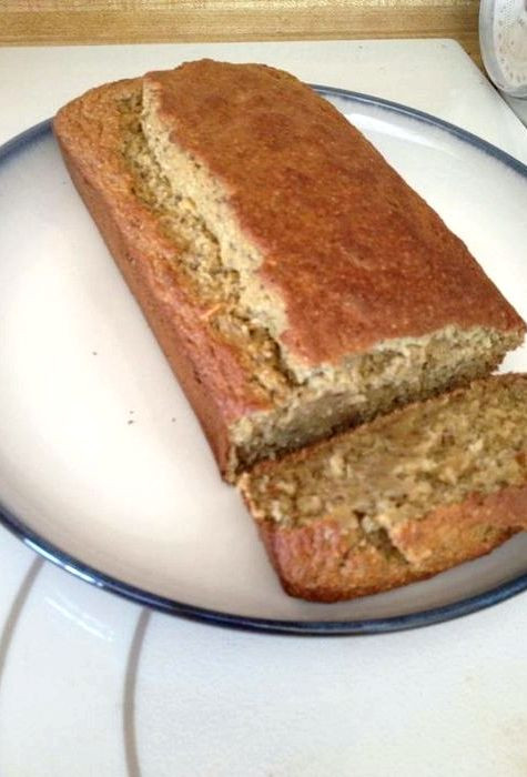 Low Sugar Banana Bread  Sugar free low carb banana bread recipe