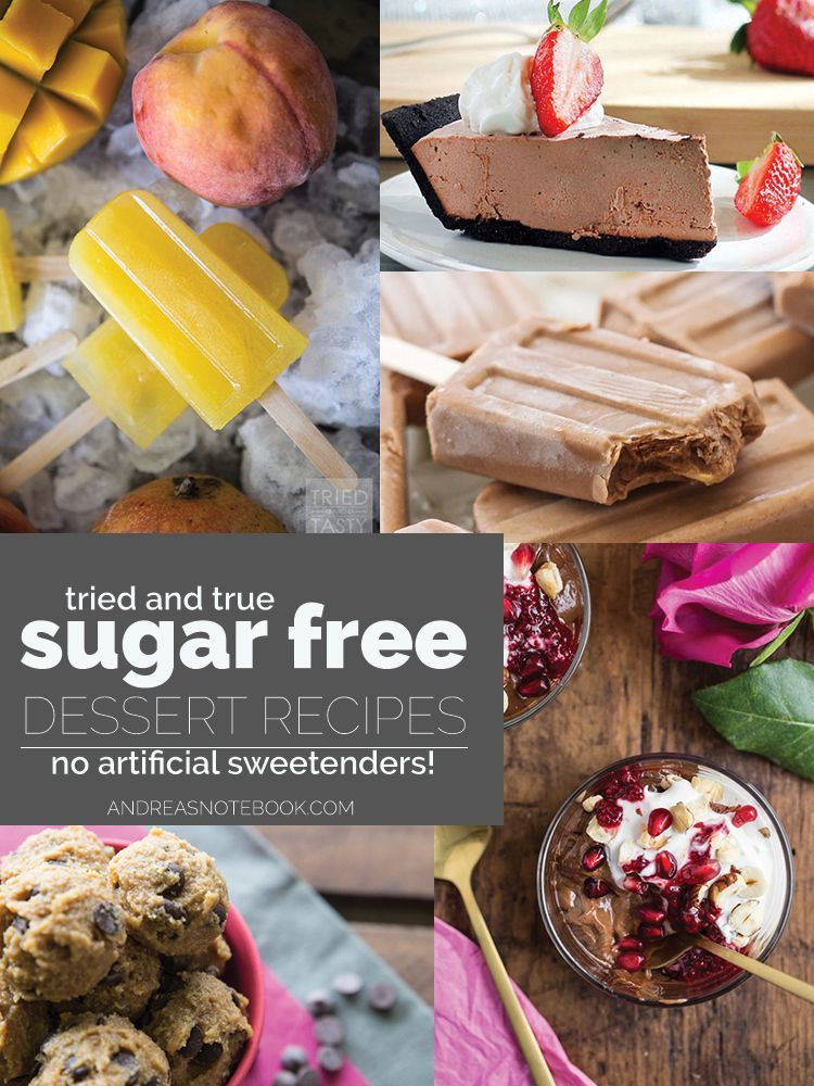 Low Sugar Desserts Without Artificial Sweeteners  Best 25 Diabetic desserts without artificial sweeteners
