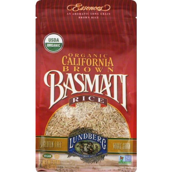Lundberg Brown Rice  Lundberg Brown Rice Long Grain California Basmati 32