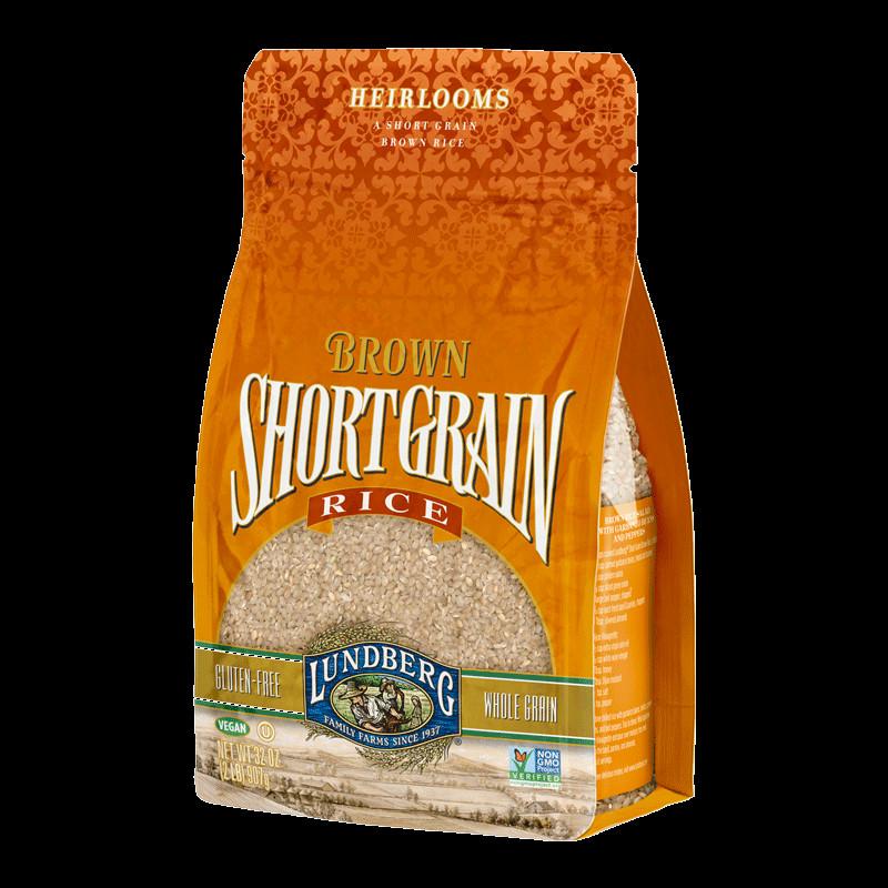 Lundberg Brown Rice  BROWN SHORT GRAIN RICE