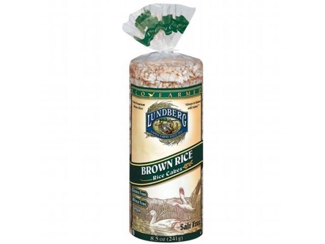 Lundberg Brown Rice  Lundberg Farms Rice Cakes Brown Rice Cake No Salt