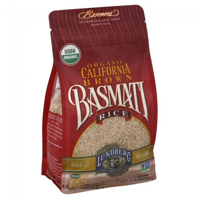 Lundberg Brown Rice  Lundberg Organic California Brown Basmati Rice 32 Ounce