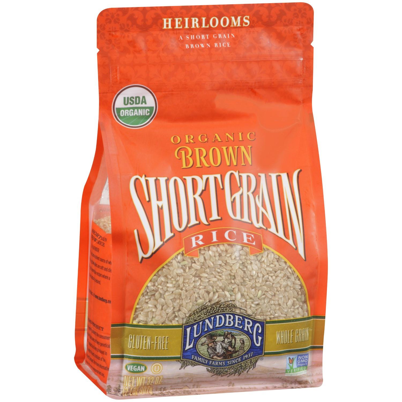 Lundberg Brown Rice  Lundberg Organic Short Grain Brown Rice 32 Oz