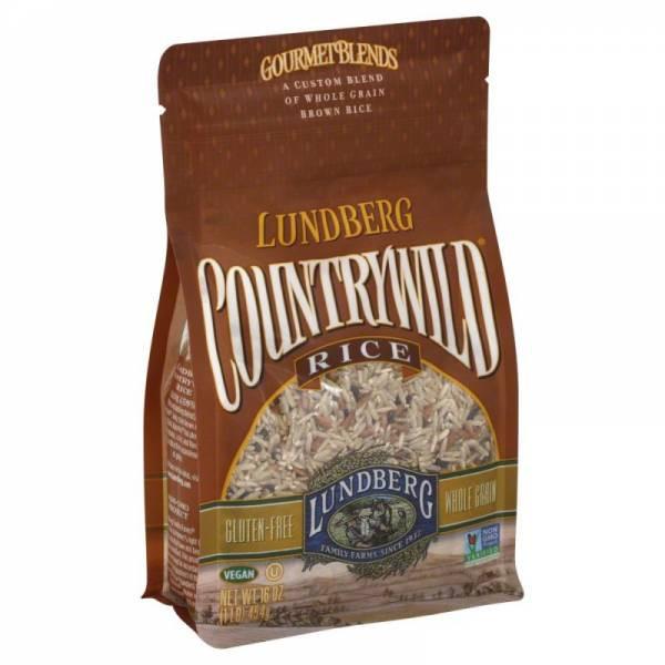 Lundberg Brown Rice  Lundberg Farms Countrywild Brown Rice Blend 1 lb 6 Pack