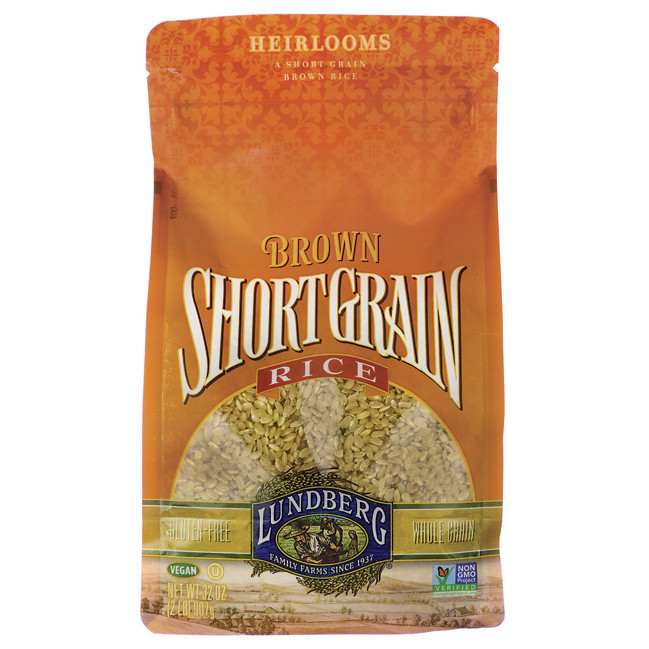 Lundberg Brown Rice  Lundberg Family Farms Short Grain Brown Rice 2 lb Bag s
