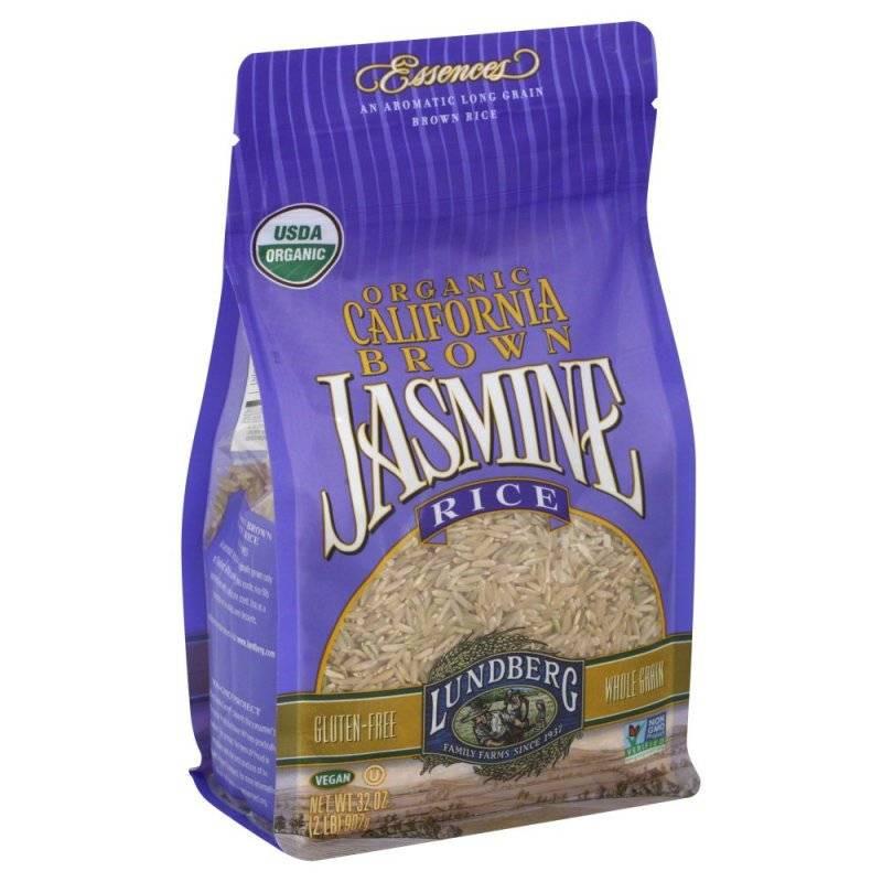 Lundberg Brown Rice  Lundberg Farms Organic Jasmine Brown Rice 2 lb 6 Pack