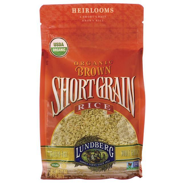 Lundberg Brown Rice  Lundberg Family Farms Organic Short Grain Brown Rice 2 lb