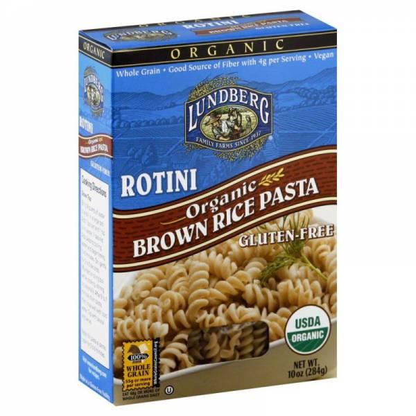 Lundberg Brown Rice  Lundberg Farms Organic Brown Rice Rotini Pasta 6 Pack