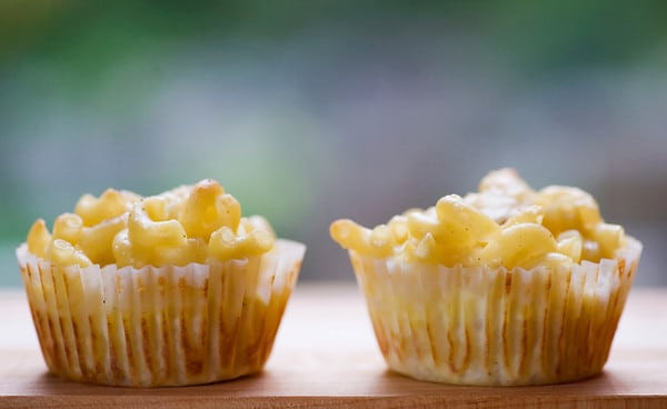 Mac And Cheese Cupcakes  How to Throw a Kid Friendly Super Bowl Party Pretty My Party