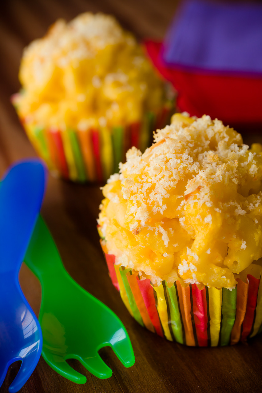 Mac And Cheese Cupcakes  Butternut Squash Mac and Cheese Cupcakes