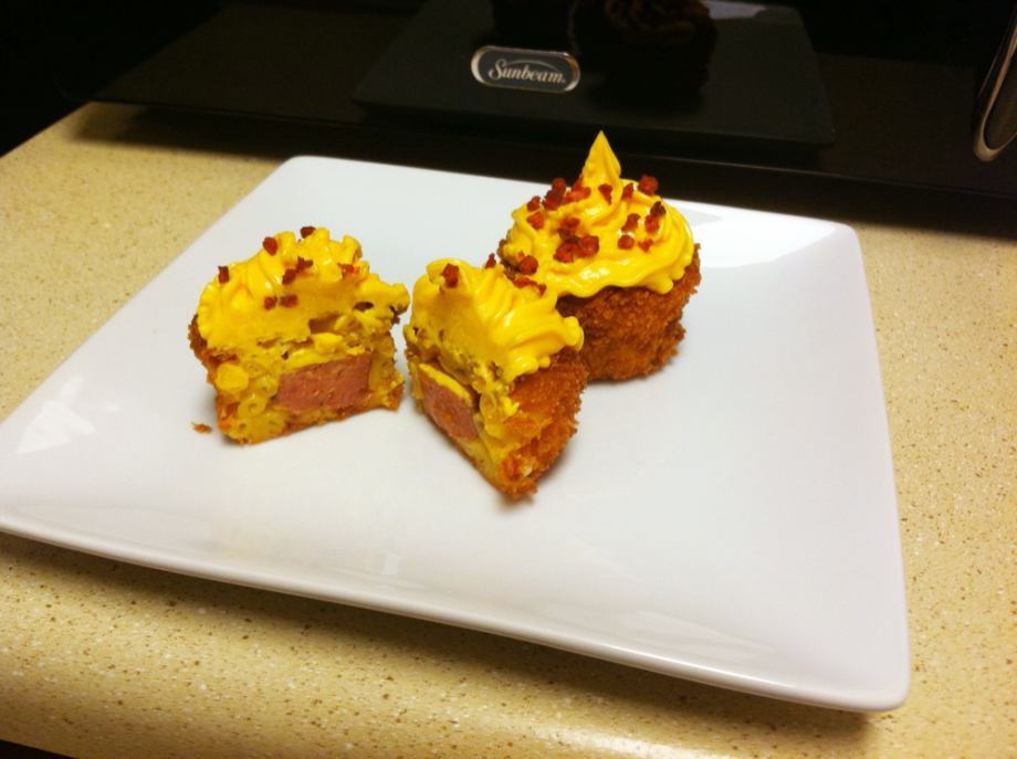 Mac And Cheese Cupcakes  A Chivette would like to make you Macaroni and Cheese
