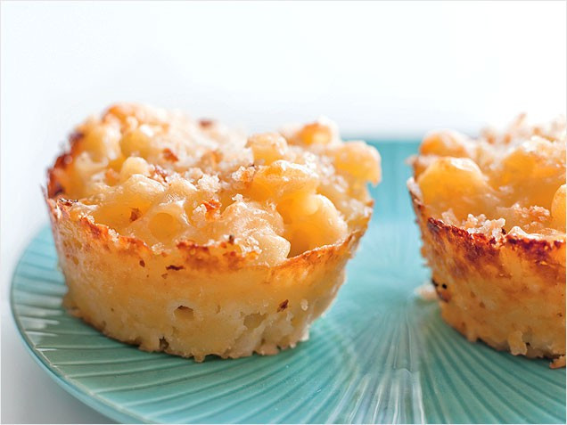 Mac And Cheese Cupcakes  Mac N Cheese Muffins TODAY