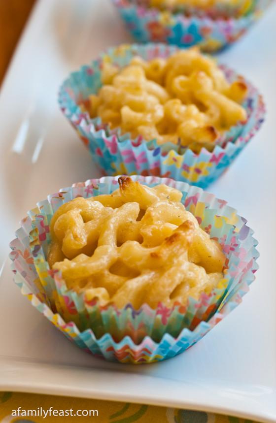 Mac And Cheese Cupcakes  Mac and Cheese Cupcakes A Family Feast