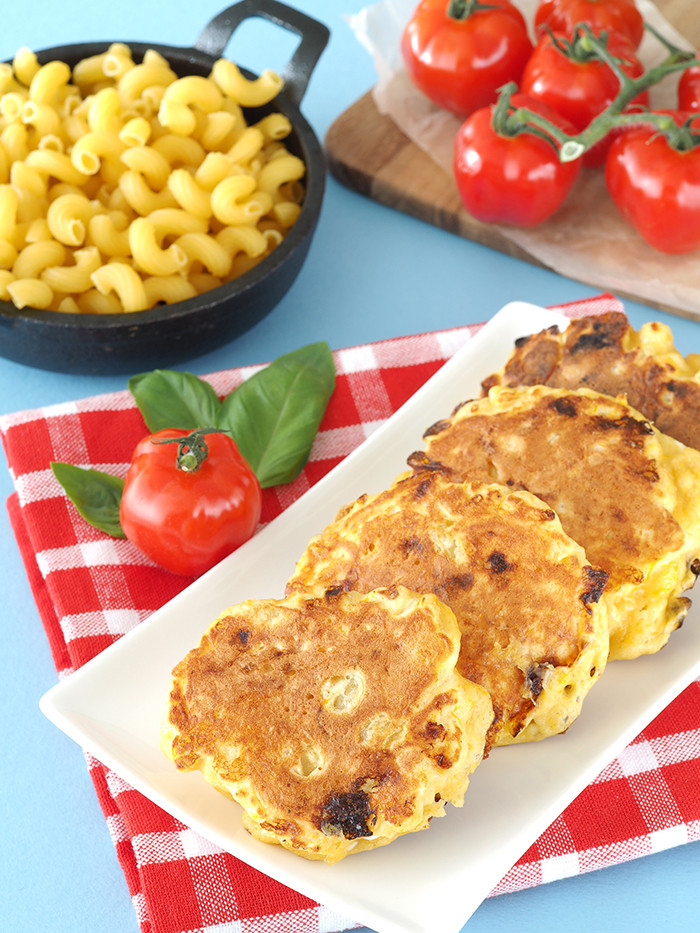 Mac And Cheese Pancakes  Macaroni and Cheese Pancakes The Breakfast Drama Queen
