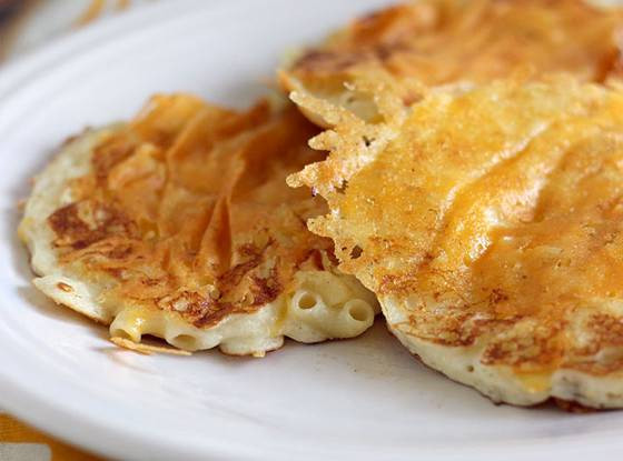 Mac And Cheese Pancakes  Happy National Pancakes Day 18 of the Weirdest Pancake