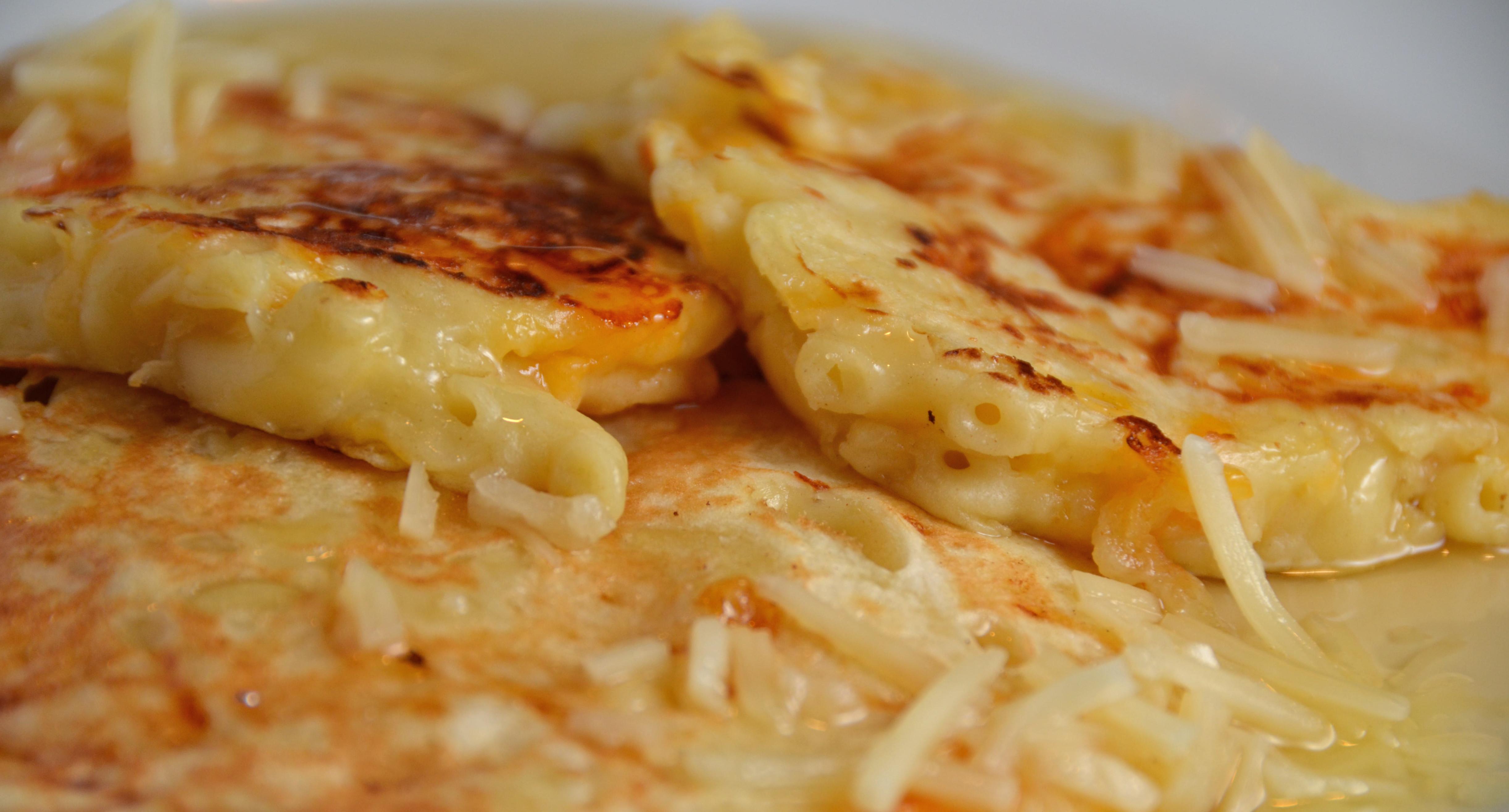 Mac And Cheese Pancakes  Macaroni And Cheese Pancakes Nude Party Anyone