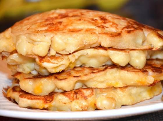 Mac And Cheese Pancakes  Would You Eat Macaroni n Cheese Pancakes Would You