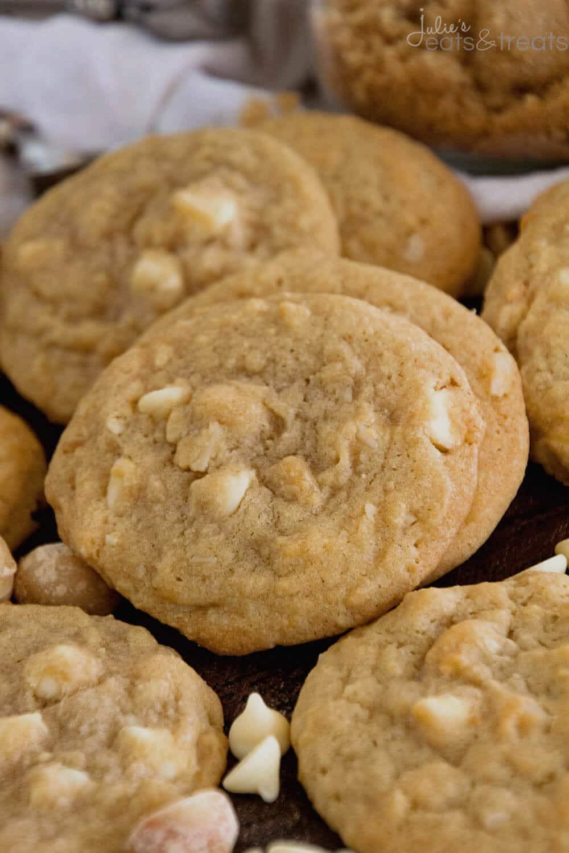 Macadamia Nut Cookies  White Chocolate Macadamia Nut Cookies Julie s Eats & Treats