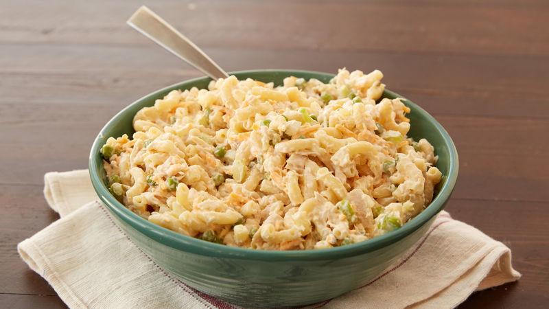 Macaroni Salad With Tuna  Tuna Macaroni Salad Recipe BettyCrocker