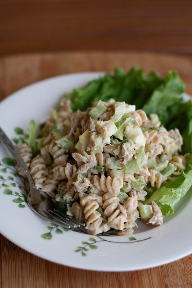 Macaroni Salad With Tuna  Creamy Tuna Pasta Salad With Greek Yogurt