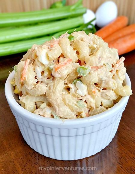 Macaroni Salad With Tuna  Hawaiian Style Loaded Tuna Macaroni Salad