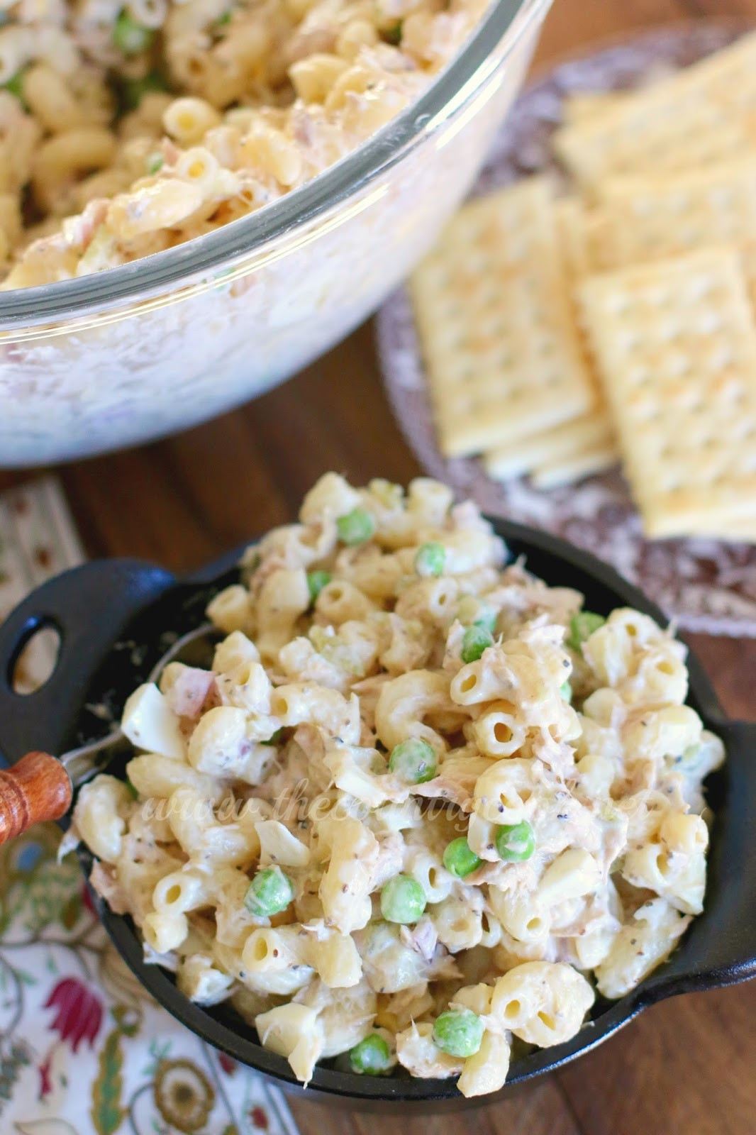 Macaroni Salad With Tuna  Tuna Macaroni Salad The Country Cook