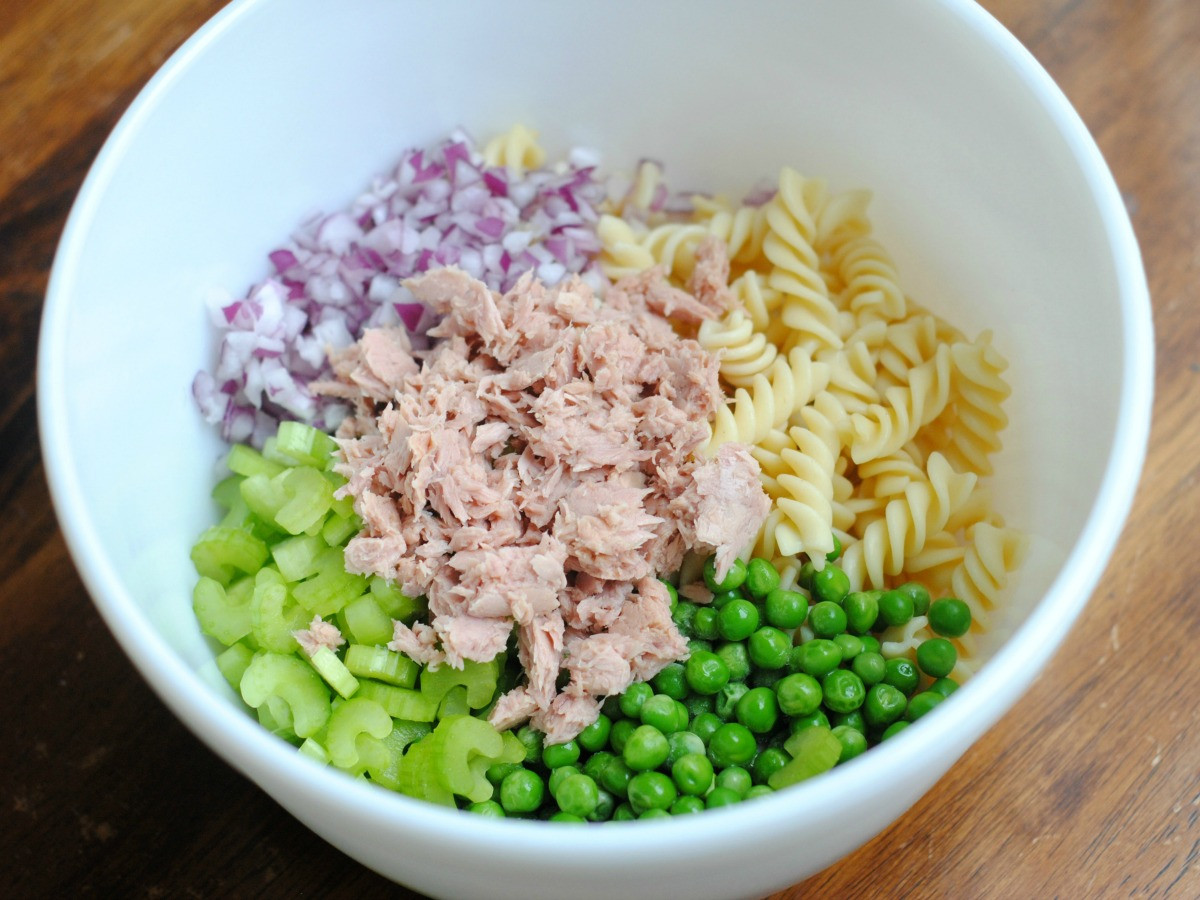 Macaroni Salad With Tuna  Easy Tuna Pasta Salad Recipe