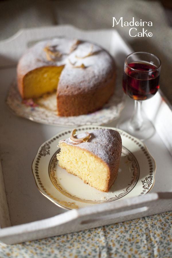 Madeira Cake Recipe  Madeira Cake Recipe by Regula Ysewijn
