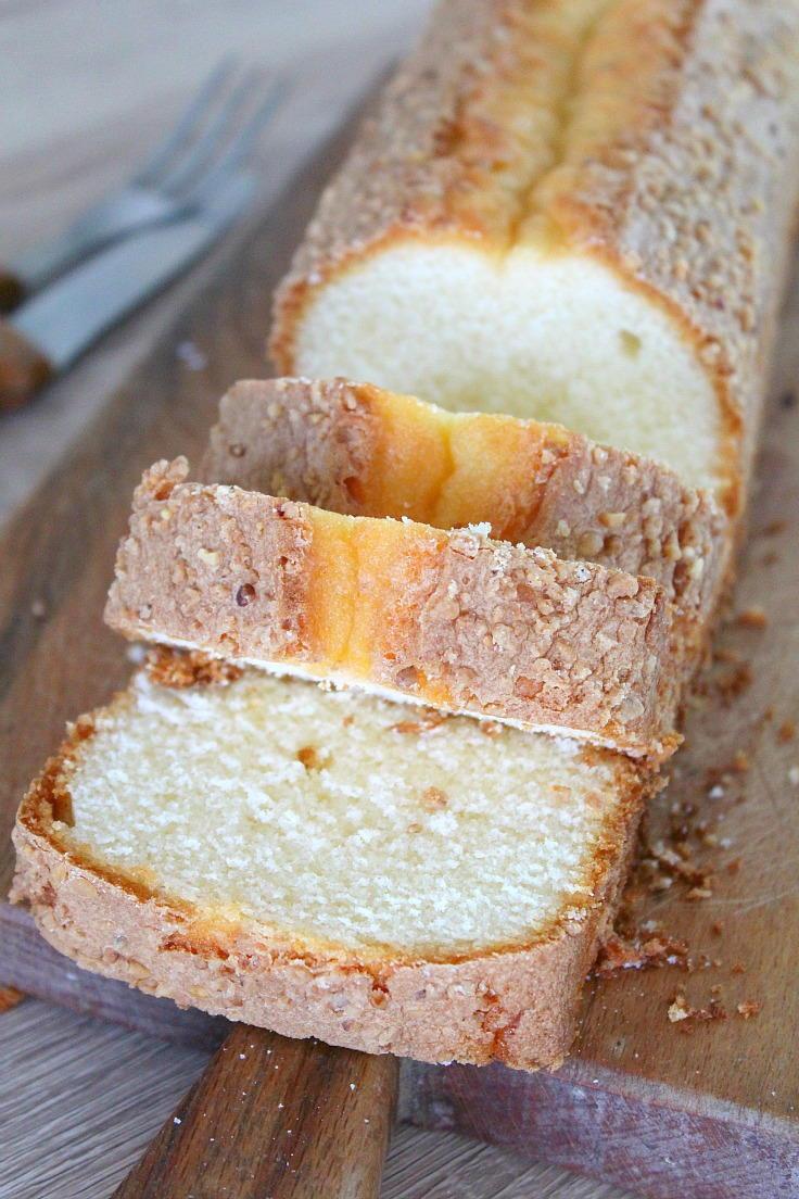 Madeira Cake Recipe  Madeira Cake with Almonds