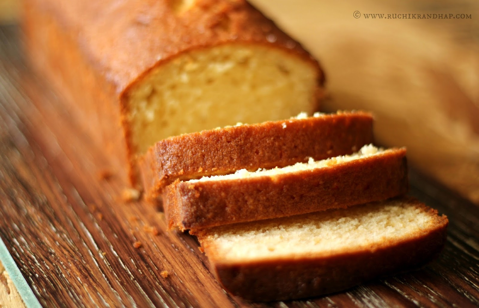 Madeira Cake Recipe  Madeira Cake Ruchik Randhap