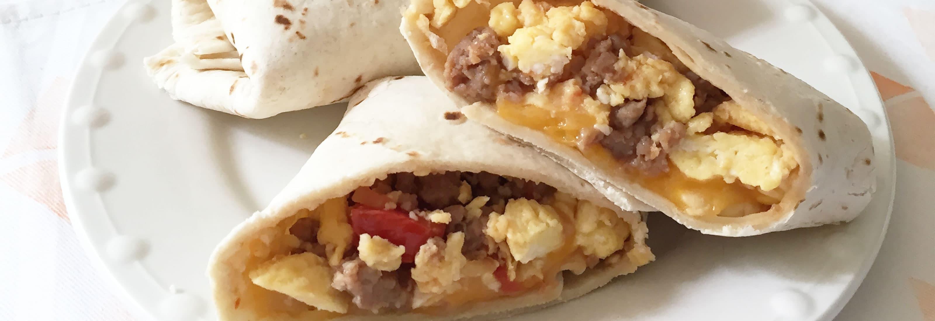 Make Ahead Breakfast Burrito Recipes  Make Ahead Turkey Sausage Breakfast Burrito