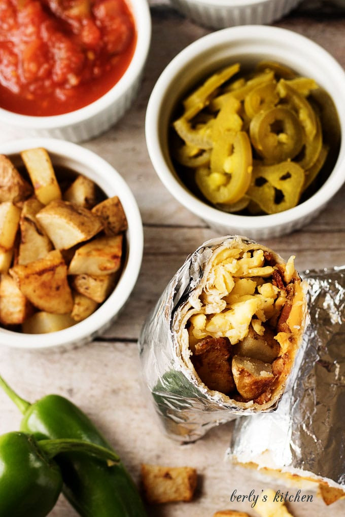 Make Ahead Breakfast Burrito Recipes  Make Ahead Breakfast Burritos