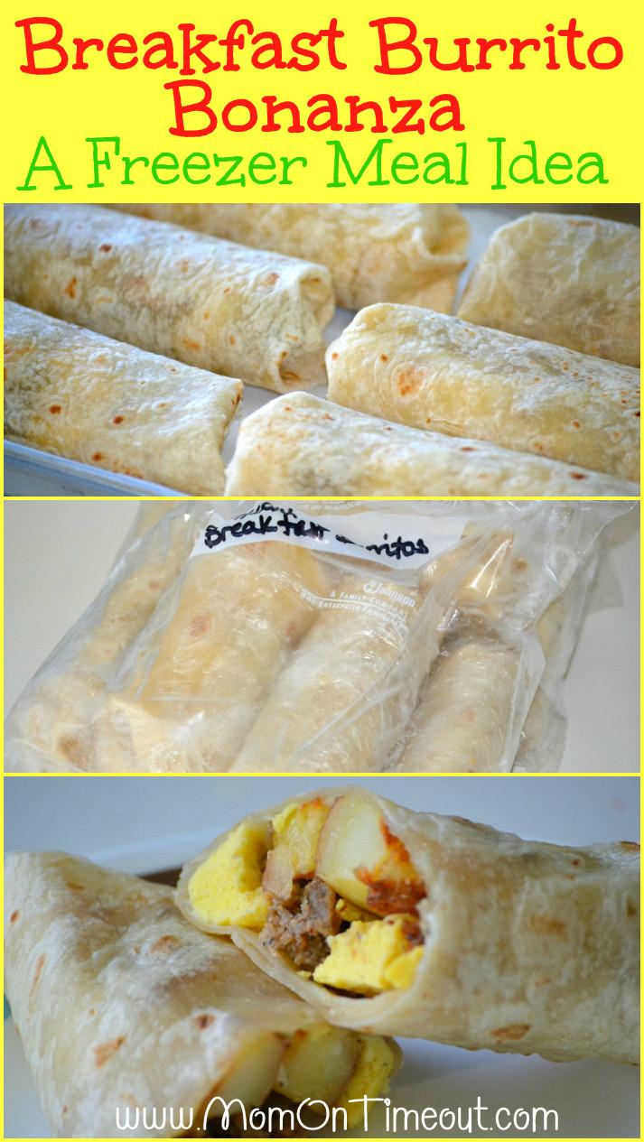 Make Ahead Breakfast Burrito Recipes  Breakfast Burrito Bonanza A Freezer Meal Idea Mom