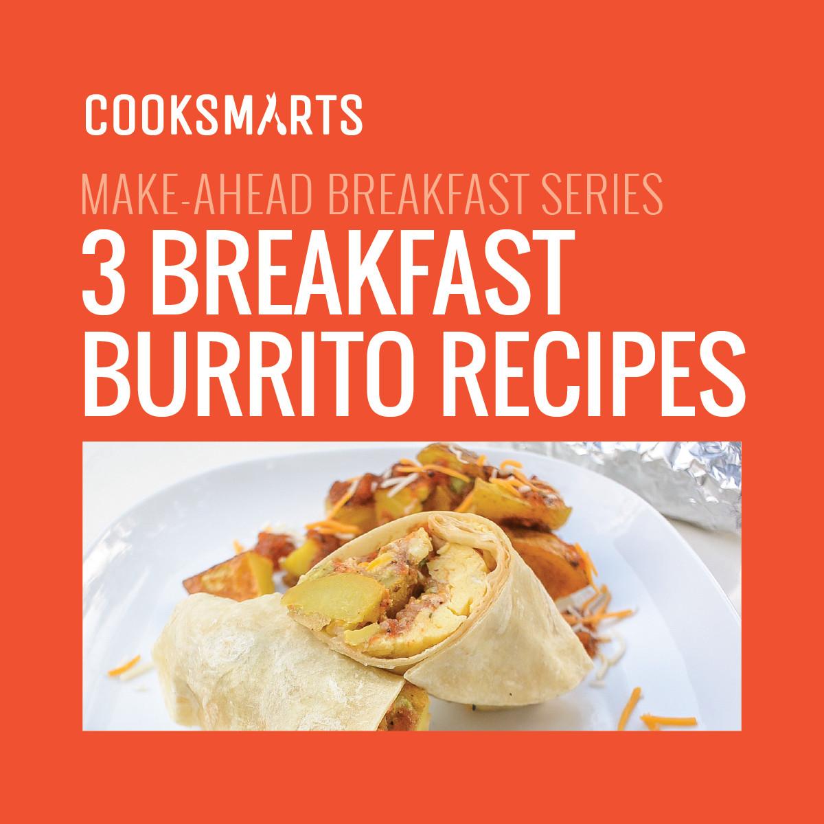Make Ahead Breakfast Burrito Recipes  Run the World Make Ahead Breakfast Burritos