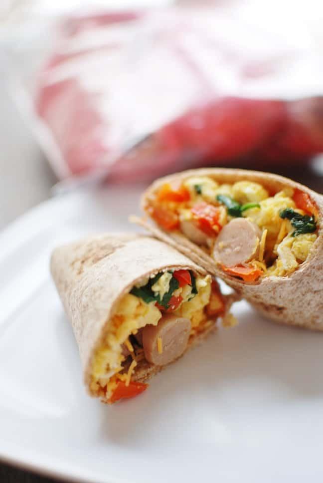 Make Ahead Breakfast Burritos  Make Ahead Breakfast Burritos Easy Cheap & Healthy