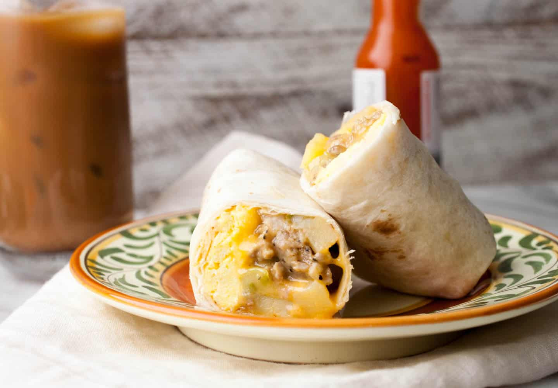 Make Ahead Breakfast Burritos  Make Ahead Breakfast Burrito Pouches Macheesmo