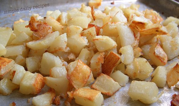 Make Ahead Breakfast Potatoes  Oven Roasted Hash Browns – Made Ahead this will save the