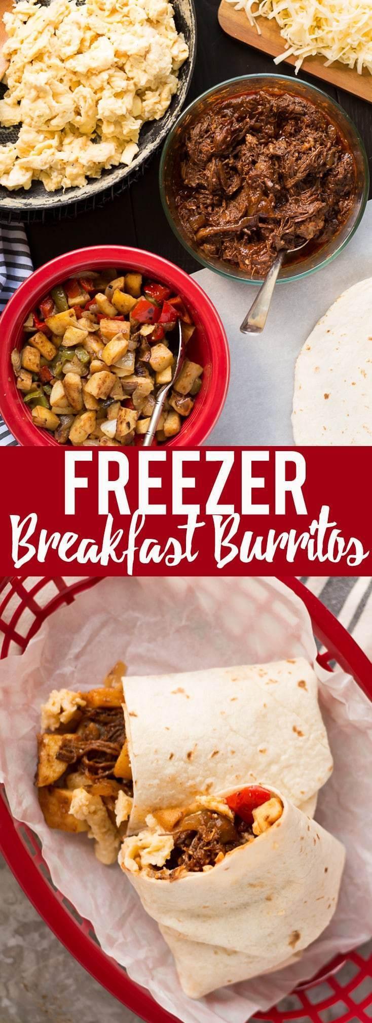 Make Ahead Breakfast Potatoes  Make Ahead Beef Breakfast Burritos Freezer Friendly