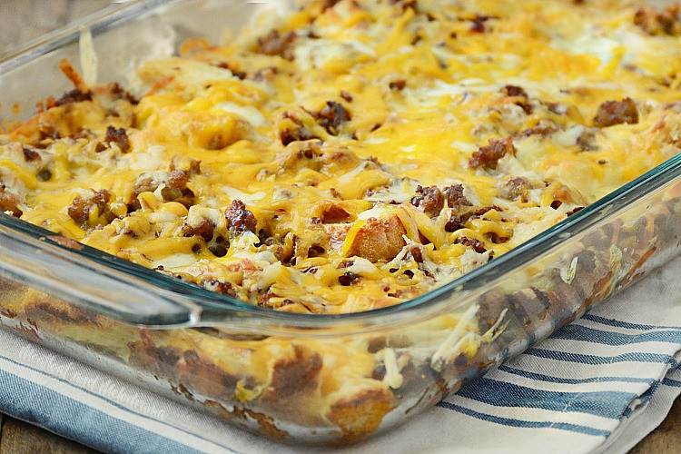Make Ahead Breakfast Potatoes  Make Ahead Sausage Sourdough Breakfast Casserole