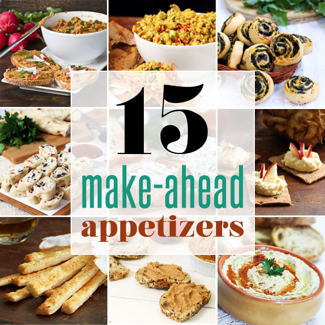 Make Ahead Christmas Appetizers  15 Make Ahead Appetizers Home Cooking Adventure