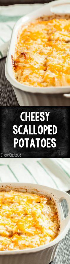 Make Ahead Scalloped Potatoes  1000 ideas about Make Ahead Scalloped Potatoes on