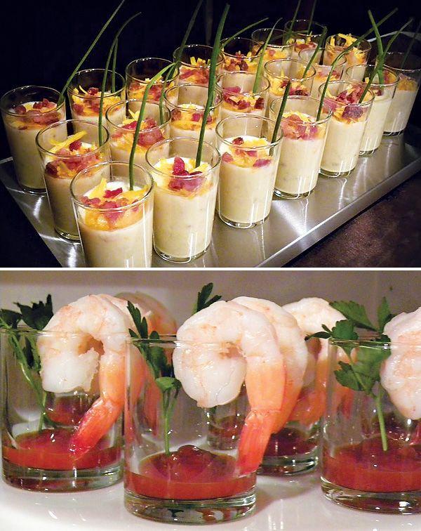 Make Ahead Shrimp Appetizers  Best 1727 Presentation Refined images on Pinterest