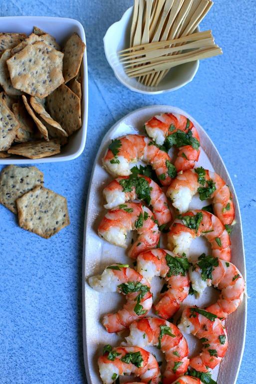 Make Ahead Shrimp Appetizers  Easy Cilantro Shrimp Appetizer
