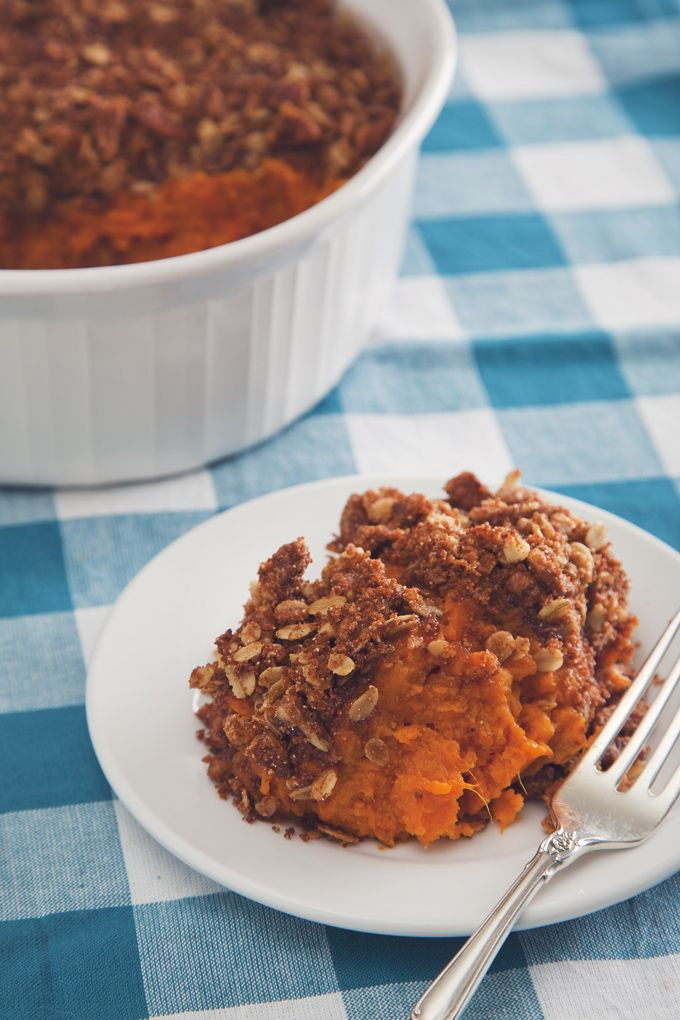 Make Ahead Sweet Potato Casserole  13 Make ahead holiday recipes that will save you serious