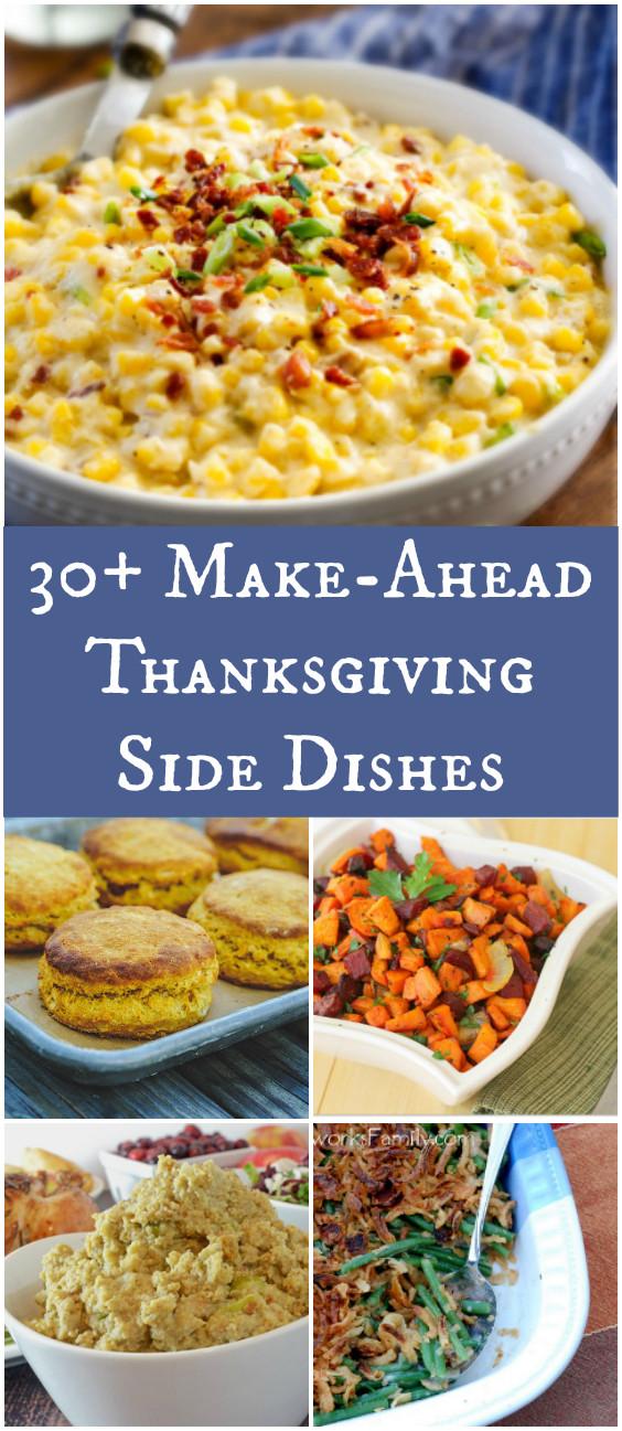 Make Ahead Thanksgiving  30 Make Ahead Thanksgiving Side Dishes Afropolitan Mom