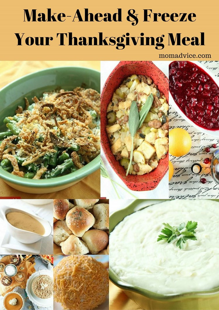 Make Ahead Thanksgiving  Make Ahead & Freeze Your Thanksgiving Meal MomAdvice