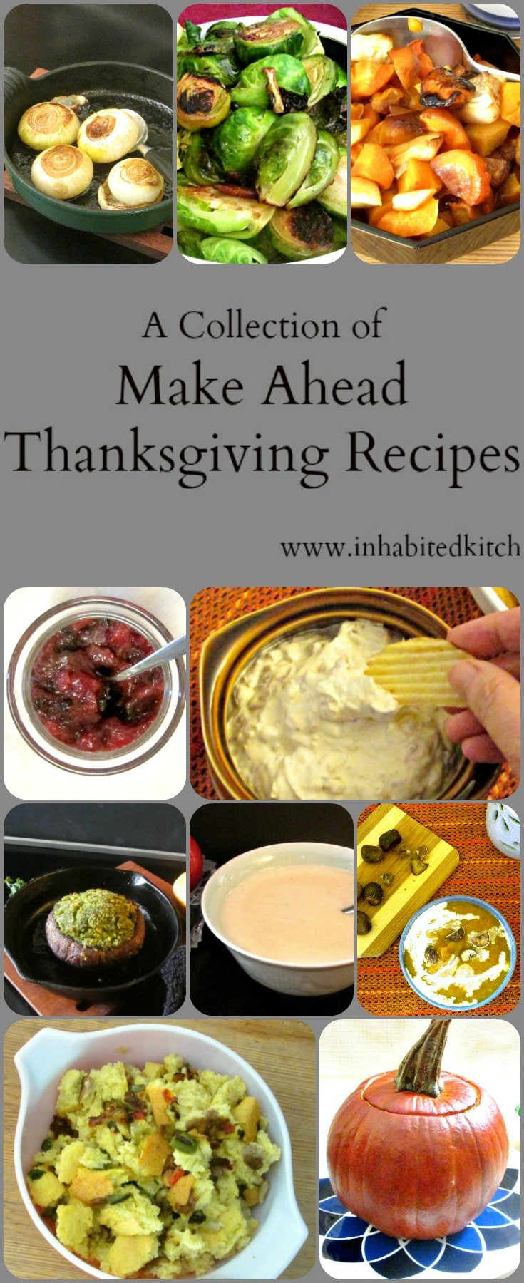Make Ahead Thanksgiving  A Collection of Make Ahead Thanksgiving Recipes