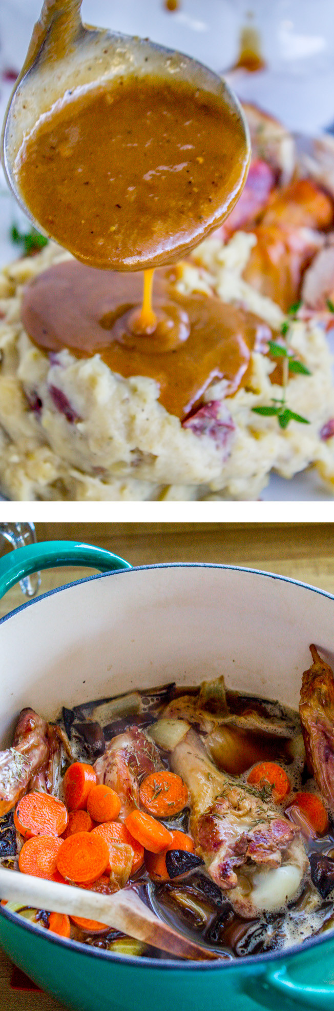 Make Ahead Turkey Gravy  Make Ahead Turkey Gravy for Thanksgiving The Food Charlatan