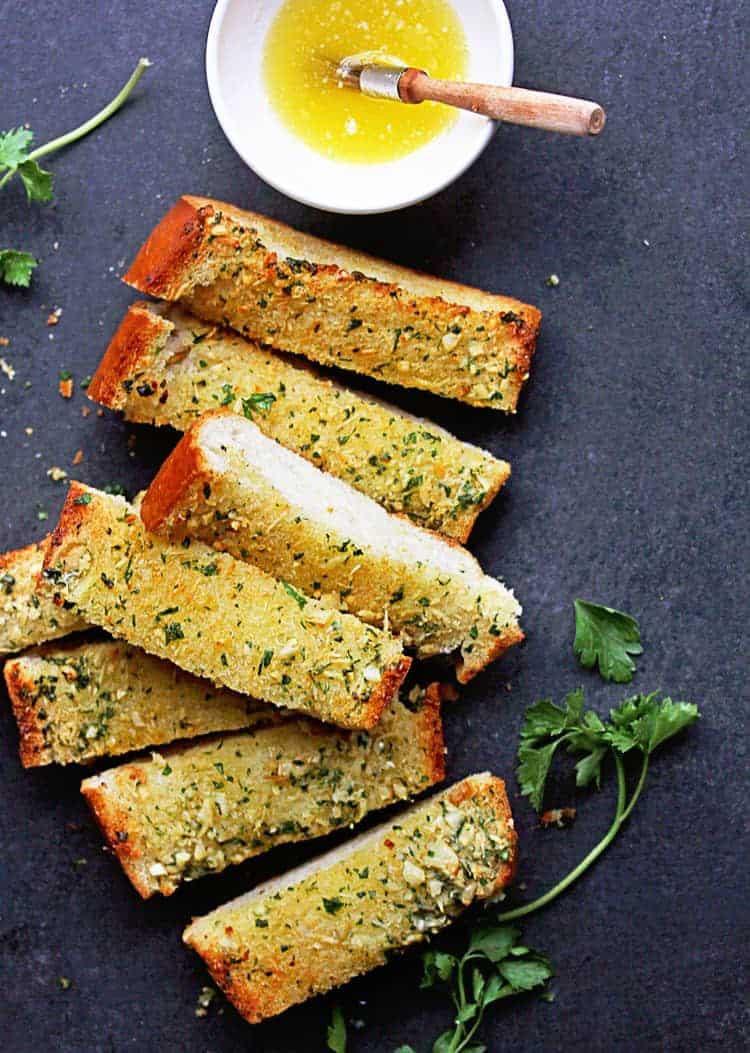 Make Garlic Bread  Easy Homemade Garlic Bread Recipe Grandbaby Cakes
